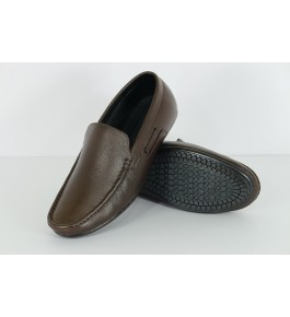 Genuine Leather Brown Shoes For Men By Mmk Enterprises