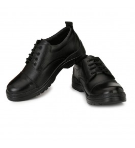 Genuine Leather Black Shoes For Men By Mmk Enterprises