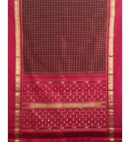 Fashionable Silk Handmade Molakalmuru Saree For Women