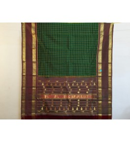 Beautiful Handmade Multicolour Colour Molakalmuru Saree For Women