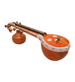 Colourful Designed Thanjavur Veena (Tanjore Veena) for Classical Music Lovers