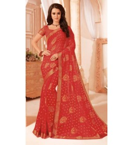 Beautiful Khushi Brasso Chiku Saree For Women By Nannuamal Ved Prakash