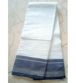 Beautiful Handloom Kandangi Sarees in White Colour for Women