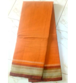 Beautiful Handloom Kandangi Sarees in Yellow Colour for Women