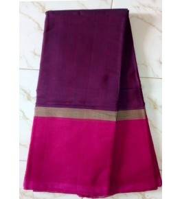 Beautiful Handloom Kandangi Sarees in Pink Colour for Women