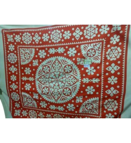 Hapur Handloom Beautiful Cotton Bedsheet with Pillow Cover for Double Bed