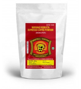 Wayanaad Espresso Coffee Powder (Moka Pot) 250g