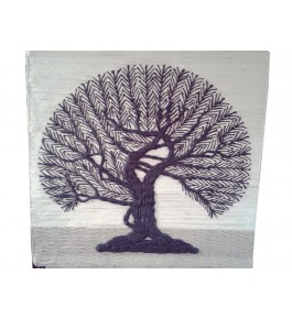 Handmade Patchwork Beautiful Tree Design Ghazipur Wall Hanging
