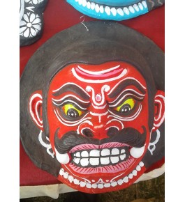 Purulia Chau Mask Demon Face By Bhim Sutradhar