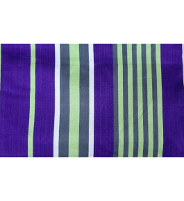 Cannanore Home Furnishings Handloom Rayon Purple Colour Double Bedsheet With Pillow Covers for Home Decor