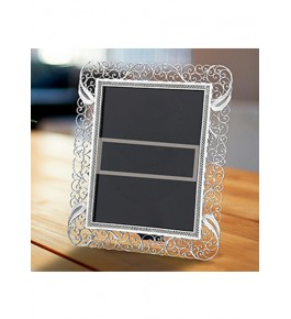 Square Shaped Mirror Frame Silver Filigree  of Karimnagar 70gm for Home Decor