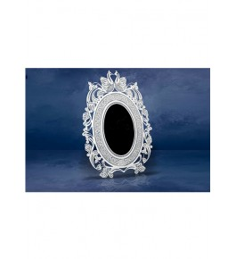 Beautiful and Designer Rounded Frame Silver Filigree  of Karimnagar 250gm for Home Decor