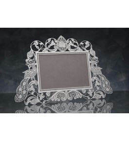 Beautiful and Designer Frame Silver Filigree  of Karimnagar 350gm for Home Decor