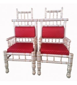 Attractive Red Colour Chairs of Sankheda Furnitures  for Home Furnishing