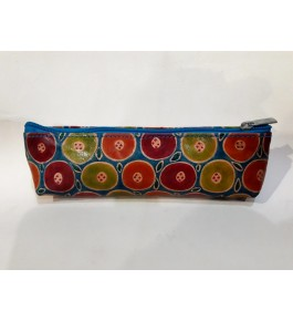 Mini Pencil Pouch Pure Santiniketan Leather for Students