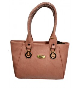 Kanpur Leather Premium Salmon Color Hand Purse for Women/Girls