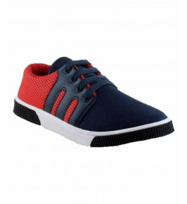 Men's Red Stylish Casual Shoes