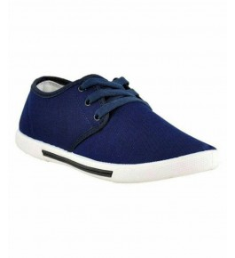 Men's Trendy Blue Comfy Casual Sneakers