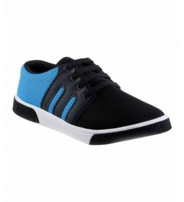 Men's Trendy Blue Stylish Casual Shoes