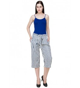 MS Bottom Printed Rayon Culottes For Girls & Women