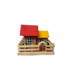 Authentic Etikoppaka Toys Wooden House