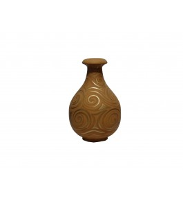 Varanasi Wooden Lacquerware & Toys  Decorative Flower Pot
