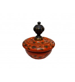 Varanasi Wooden Lacquerware & Toys  Decorative Sindoor Box