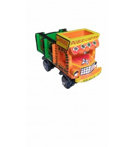 Varanasi Wooden Lacquerware & Toys  Decorative Truck Showpiece By M/S Khilauna Uddyog