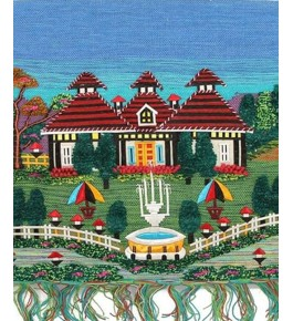 Colourful Woolen Based Ghazipur Wall Hanging For Wall Decor