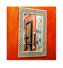 Handmade Bone Mirror Photo Frame For Wall Decor By Humran Export