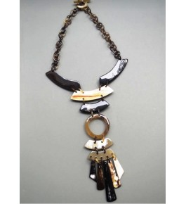 Handmade Horn Necklace For Women By Humran Export