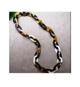 Handmade Multicolor Horn Chain By Humran Export