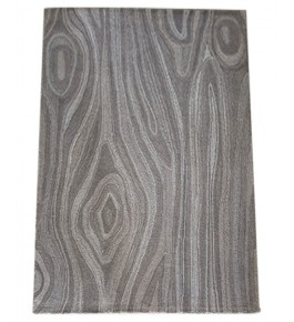 Beautiful Hand Tufted Gray colour Pure Wool & Cotton Mirzapur Dari For Home Decor/Living Room/Bedroom (5 x 8 Ft).