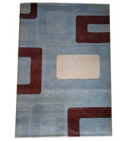 Classic Hand Tufted Multicolour  Pure Wool & Cotton Mirzapur Dari For Home Decor/Living Room/Bedroom (5 x 8 Ft).