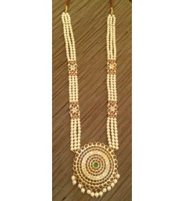 Designer Temple Jewellery of Nagercoil for Women Gold Plated Necklace By JTJ