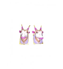 Handmade Wooden Beautiful Cow Statue Kinhal Toys for Decoration