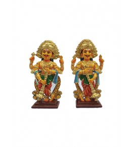 Handicrafted Beautiful Woman Standing  Wooden Kinhal Toys for Decoration