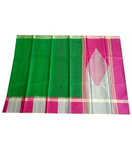 Handloom Champa Silk & Fabrics Fancy Border Designer Saree for Women