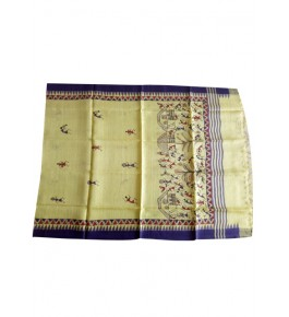 Handloom Champa Silk & Fabrics  Print Designer Saree for Women