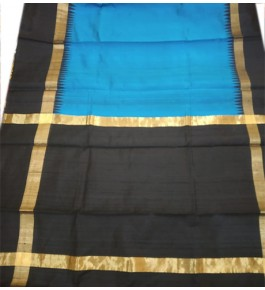 Handloom Champa Silk & Fabrics Golden Touch Designer Saree For Women