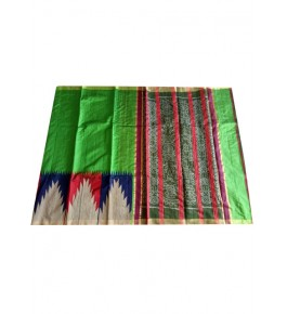 Handloom Champa Silk & Fabrics Multicolor Designer Saree for Women
