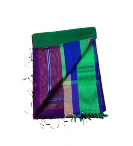 Maheshwar Cotton & Silk Multicolor Saree For Women By Rang Boutique