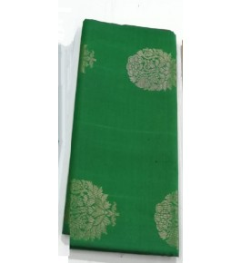 Green Coloured with Border Kovai Kora Cotton Sarees for Women