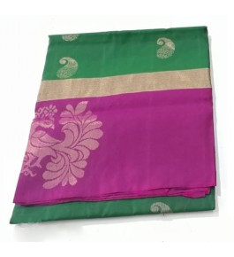 Designer Buttidar Pattern Kovai Kora Cotton Sarees for Women
