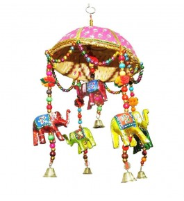 Beautiful Handmade Elephant Tokra Of Rajasthan for Decorating Purpose