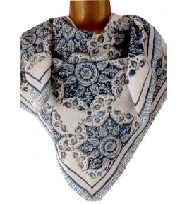 Machilipatnam Kalamkari Cotton Scarve for Women