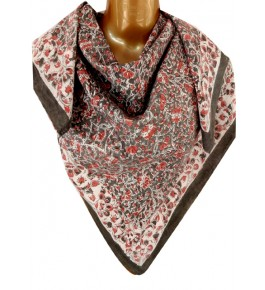 Machilipatnam Kalamkari Cotton Multicolor Scarve for Women