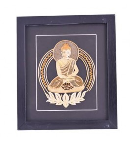 Sikki Grass Of Bihar Buddha Painting