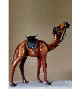 Beautiful Handmade Indore Leather Toy Camel