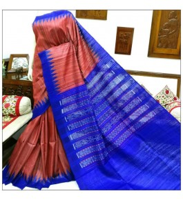 Latest Designer Weaving with Brightful Colours Gopalpur Tussar Saree for Women